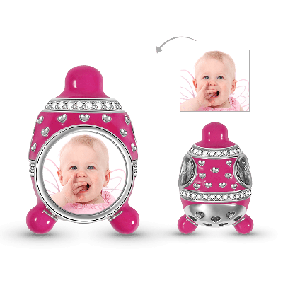 Baby Hut Foto Charm