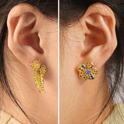 Blume & Blatt Ohrringe