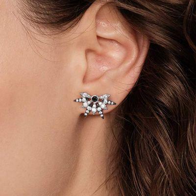 Schneeflocken Ohrringe