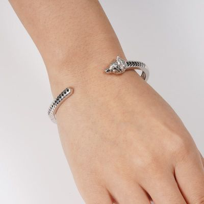 Wolf offen Armband