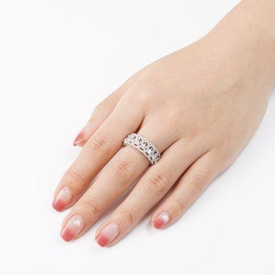 Birnenförmiges Ring