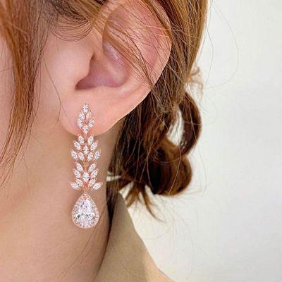 Ahornblatt Anhänger Ohrringe