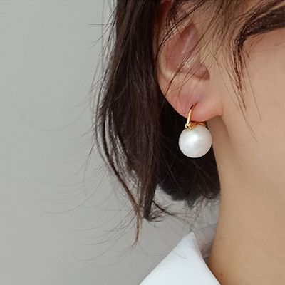 Perlen Anhänger Ohrringe