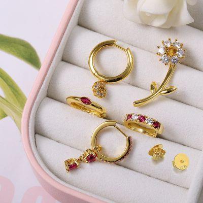 Gänseblümchen Manschetten Ohrringe