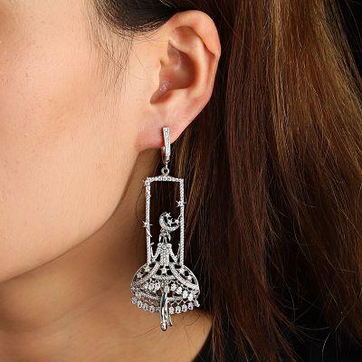 Schicksal Diamant Ohrringe