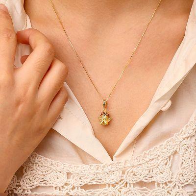 Engel Prinzessin Halskette