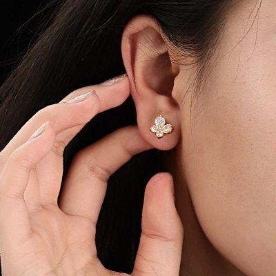 Diamant Schmetterlingsohrringe