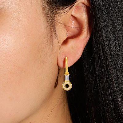 Anhänger Ohrringe mit Kreis