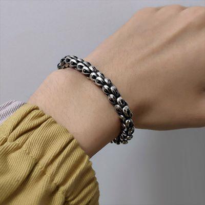 Herren Drachen Armband