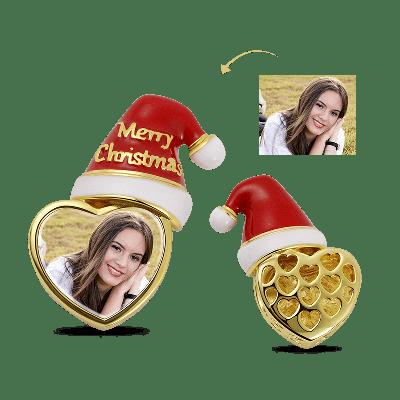 Weihnachtsmütze Foto Charm