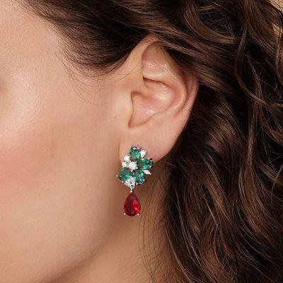 Diamant Früchte Ohrringe