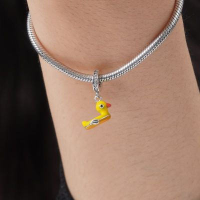 Gelbe Ente Anhänger