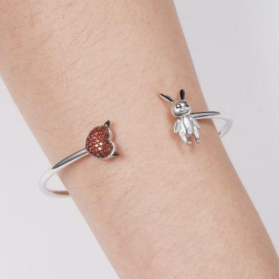 Kaninchen & Teufelsherz Armband