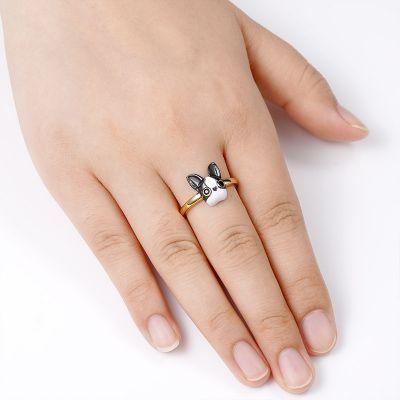 Französische Bulldogge Ring