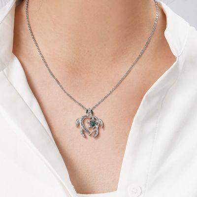 Schildkröte Eltern-Kind Halskette