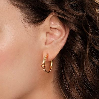 Kleine Blumen Ohrringe