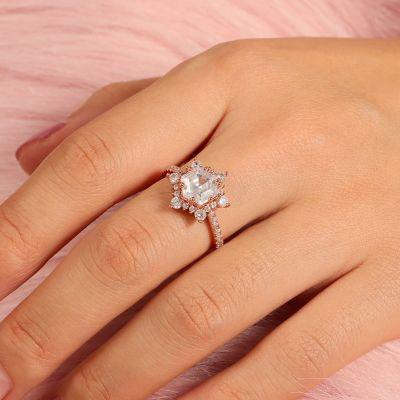 Schneeflocken Ring