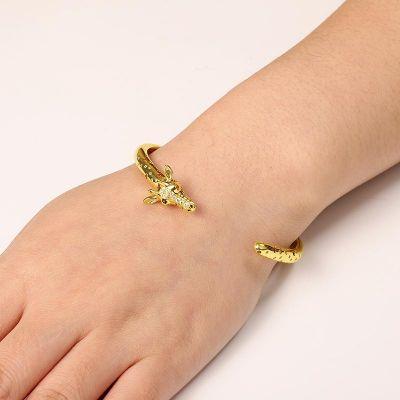 Giraffe offen Armband