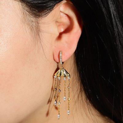 Medusa Anhänger Ohrringe