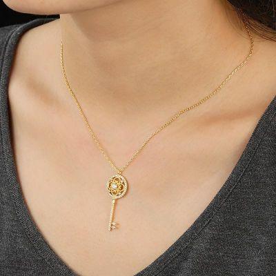 Schlüssel Halskette