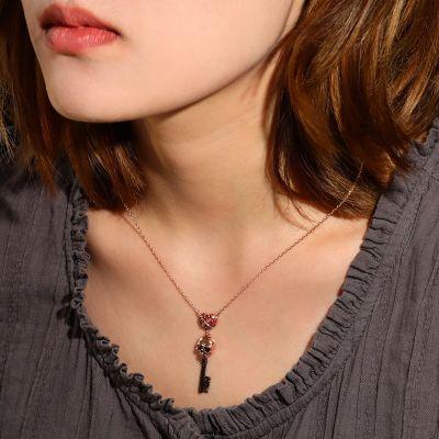 Schädelschlüssel Halskette
