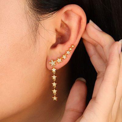 Kletterer Sterne Ohrringe