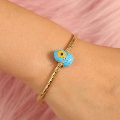 Netter blauer Monster Charm