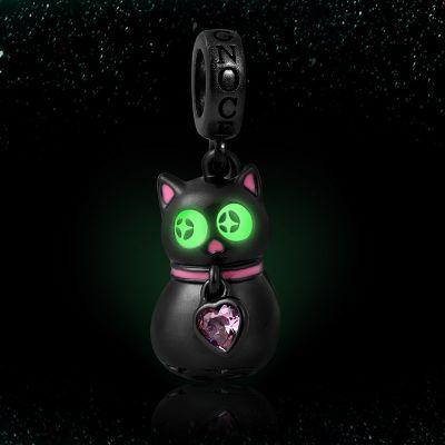 leuchtende Katze Anhänger