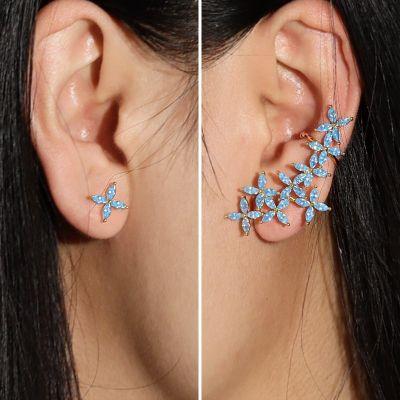 Ohrkletterer Blauer Schmetterling