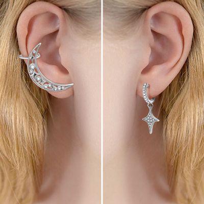 Mond & Stern Manschette Ohrringe