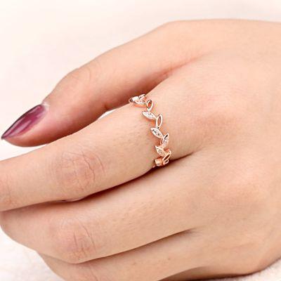 Blätter Ring