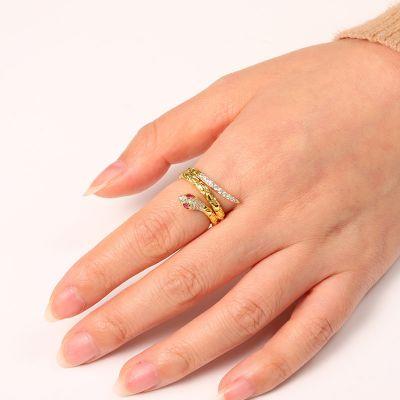 Gold Schlange Ring