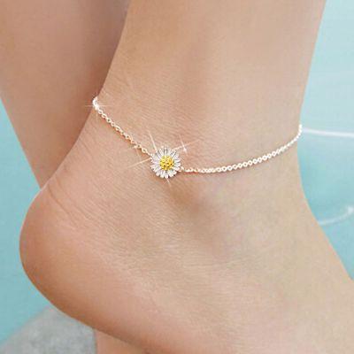 Gänseblume Fußkette