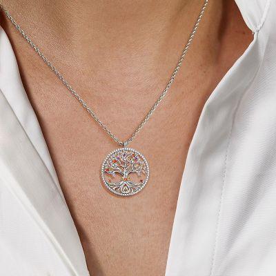 Lebensbaum Halskette