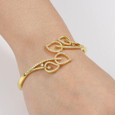 Blätter Armband