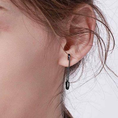 Büroklammer Ohrringe