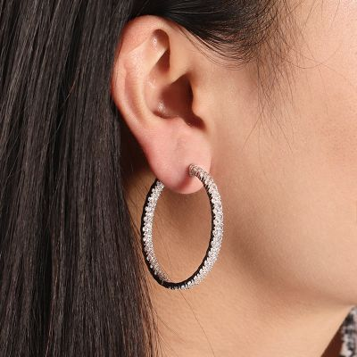 Weiße Diamant Ohrringe