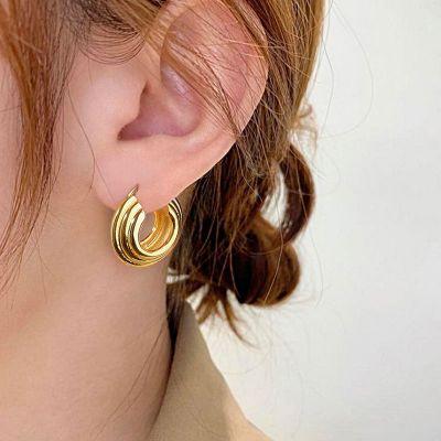 Waffel Ohrringe