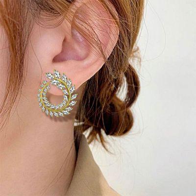 Blatt Ohrringe
