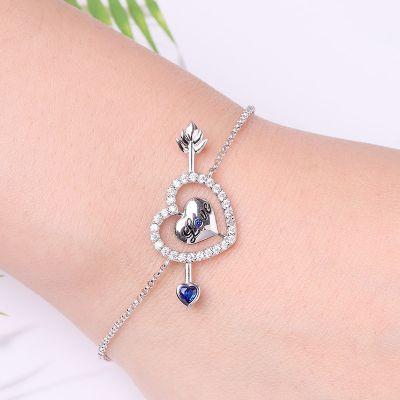 Liebeespfeil Armband