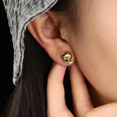 Mexikanische Schädel Ohrringe
