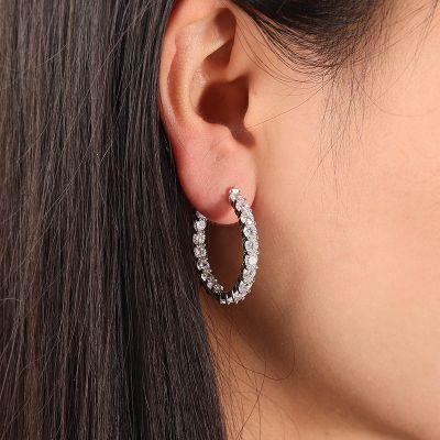 Klassische Diamant Ohrringe