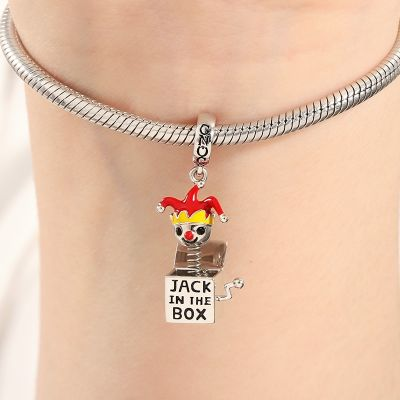 Jack in der Box Charm