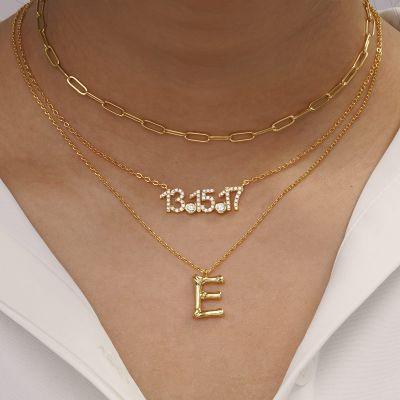 Bambus Halskette E