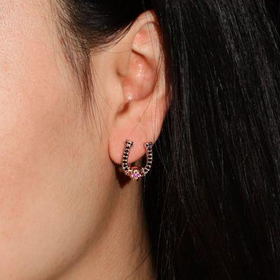 U-Typ Schädel Ohrringe