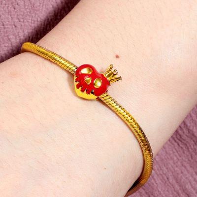 Gift Apfel & Krone Charm